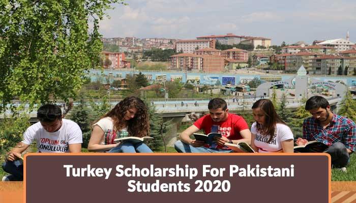 Turkey Scholarship For Pakistani Students 2020