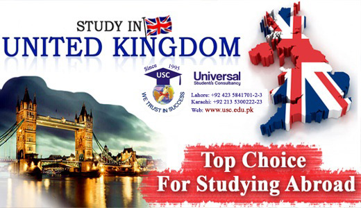 Study in UK with USC  Scholarships are available for