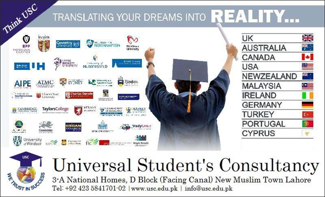 Study in UK/Australia/Ireland/USA or Europe  For expert