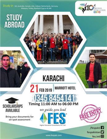 Global Educational Expo By FES In Karachi