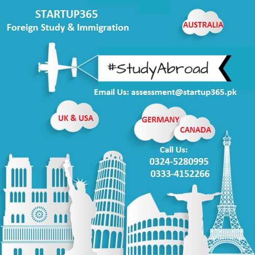 STUDY IN CANADA, AUSTRALIA, UK, USA