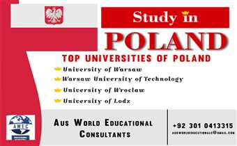 Study in Poland  with Aus World Education Consultants