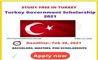 💯% Türkiye Scholarship: