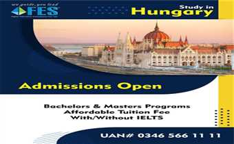 Study In Hungary With Fes higher education consultants Pvt.Ltd