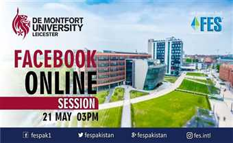 De Montfort University Leicester UK Live Q & A Session With FES Consultants