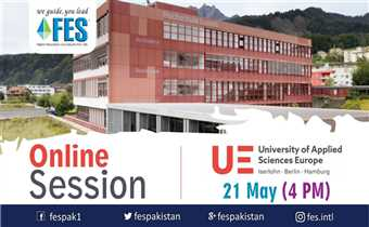 UE University Of Applied Sciences Europe Live Q & A Session FES Consultants