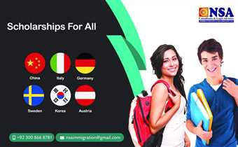 Scholarships for All Admissions Open for Sep/2019 Scholarships in China, Italy, Germany Sweden... With/Without IELTS*