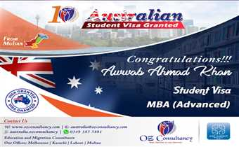 STUDENT VISA GRANTED for COUNTRY AUSTRALIA..!!