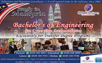 Amazing chance for engineering students to save smartly while study in Malaysia