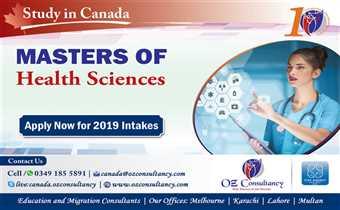 Study Masters in Health Care - Canada..!!