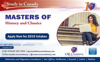 Study History and Classics in Canada..!!