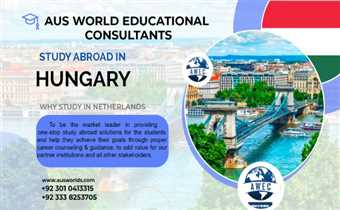 Study in Hungary with Aus World Educational consultants