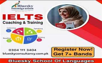 Get IELTS classes in bluesky school of languages