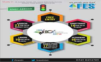 10th Global Educational Expo By FES Free Entry