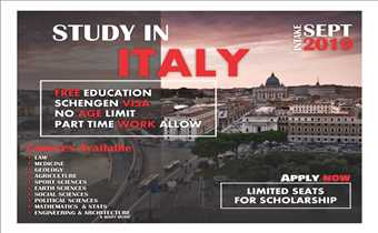Study free in Italy | Scholarships