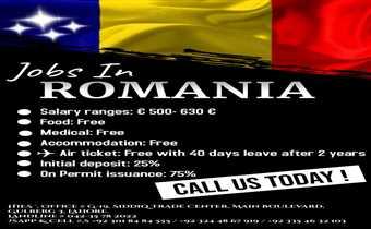 Jobs In Romania