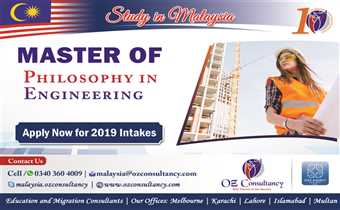 OZ Offers Philosophical engineering study program in Malaysia..!!