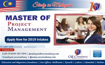 Apply for Masters of Project Management with OZ CONSULTANCY..!!