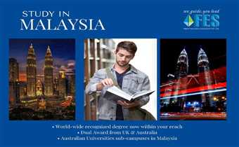 Malaysia is one of the few countries whose educational degrees are recognized globally. Some Australian universities have also established their campu