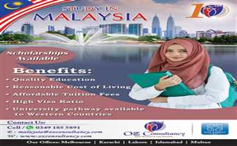 Study in Malaysia, with pathway programs to Western Universities