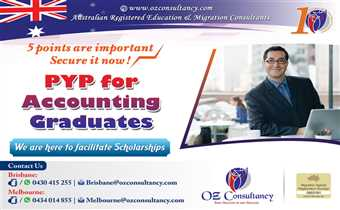 Apply for Accounting professional year program with OZ CONSULTANCY..!!