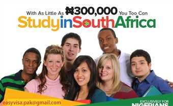 SOUTH AFRICA Student VISA- Only Fresh & Genuine Students with IELTS