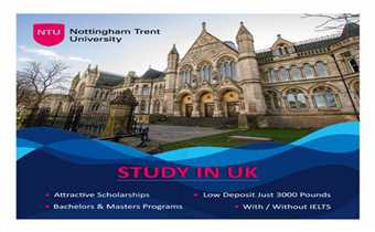 Study In NTU UK with Fes Higher Education Consultants Pvt.Ltd