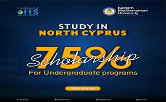 Study In North Cyprus With FES Higher Education Consultants Pvt Ltd  Undergraduate Programs Scholarships Available Upto 75%