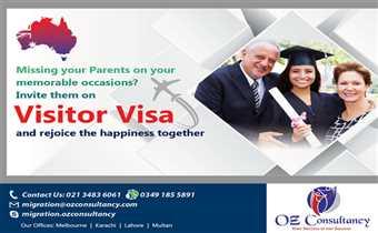 Apply for Visitor Visa - Australia..!!