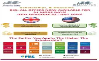 Study In USA & UK With FES Higher Education Consultants Pvt Ltd