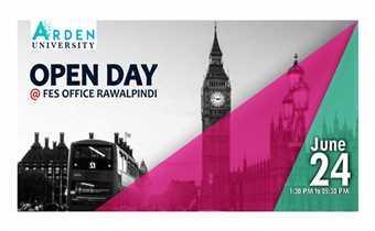 Arden University - Open Day At FES Rawalpindi
