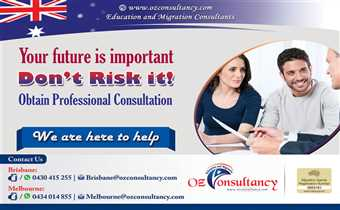 Be in safe hands with OZ Consultancy..!!