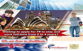 Apply for TR in Australia through OZ Consultancy..!!