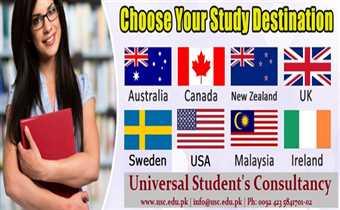 Choose your Study Destination