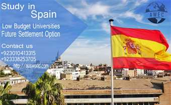 Study in Spain with Aus World Educational Consultants