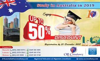 Avail upto 50% Discount on Registration - Australia..!!