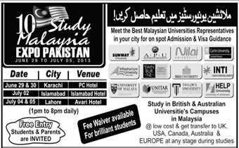 MALAYSIA Student Visa- Work Allowed During Studies- IELTS Skipped / Low Fee / Fast Visa