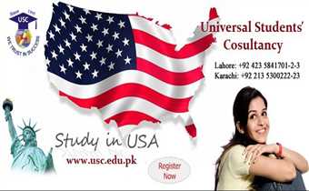 Study in USA with or without IELTS.