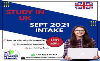 Live your Dream of Studying in UK!
