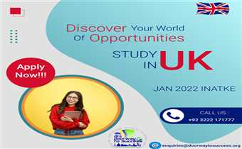 | Discover The World of Opportunities| Study in UK|
