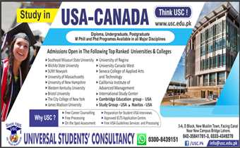 Study in USA with or without IELTS. For expert advice Call: 0423 5841701 & 2