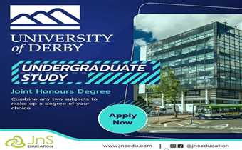 JnS Education: Find your perfect course at undergraduate, postgraduate, and foundation level to study in Derby