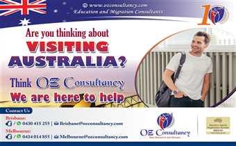 Get VISIT VISA With OZ CONSULTANCY..!!