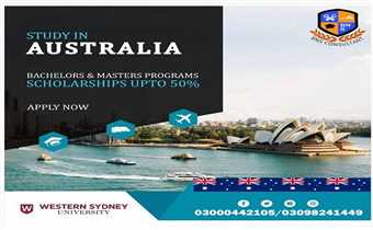 STUDY IN AUSTRALIA FROM WESTERN SYDNEY UNIVERSITY  FOR 2021 INTAKE...