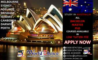 Study in Australia | Apply Now for September/October Intake