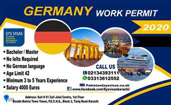 GERMANY WORK PERMIT 2020