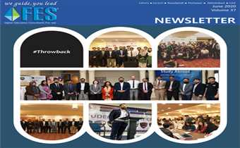 Volume 37 Newsletter Of FES The Leading Education Consultants In Pakistan.