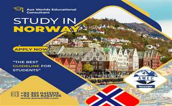 Study in Norway with Aus World Educational Consultants 03010413315