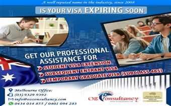 Is Your Visa Expiring Soon? Contact OZ Consultancy..!!