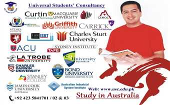 Study in Australia. Admissions open for September intake.